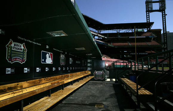 Visitors Dugout - New Busch Stadium