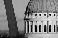 Saint Louis in Black and White